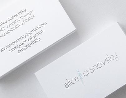 Logo Design: Alice Granovksy