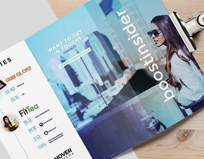 BoostInsider Conference Brochure