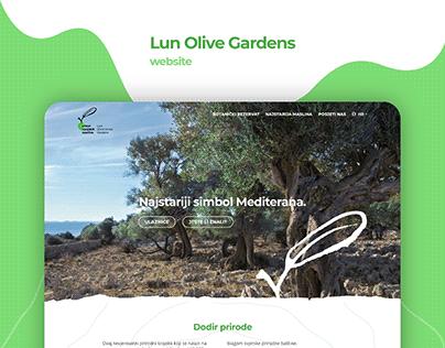 Lun Olive Gardens website