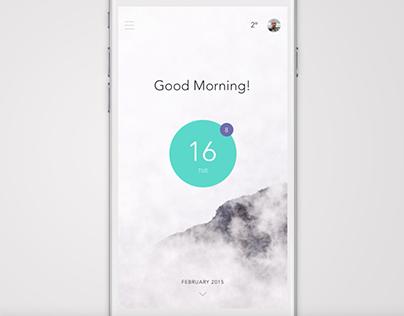 Mobile app ui animation