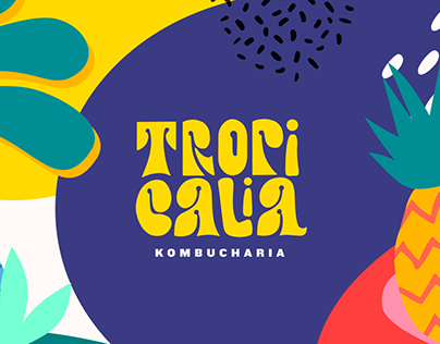 Tropicália Kombucharia - Brand