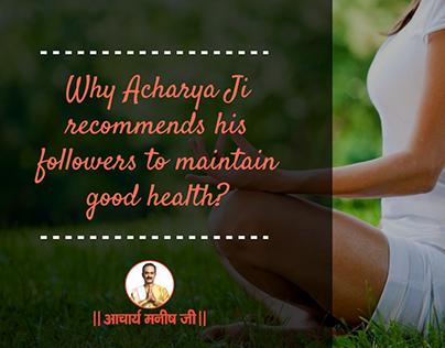 Acharya Manish Ji - Ayurveda Health Guru
