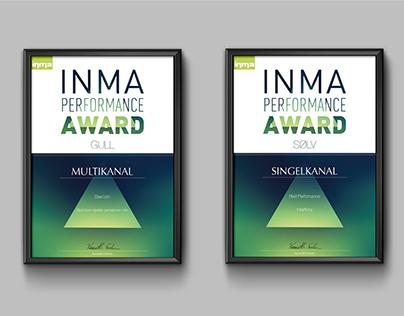 INMA Performance Award – Diploma