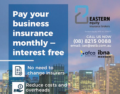 Magazine Print Ad for Eastern Equity Insurance