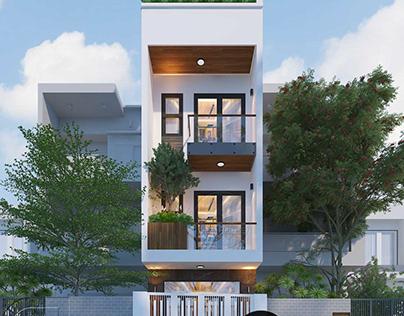 Mẫu thiết kế nhà phố 4x16m tinh tế và tiện nghi