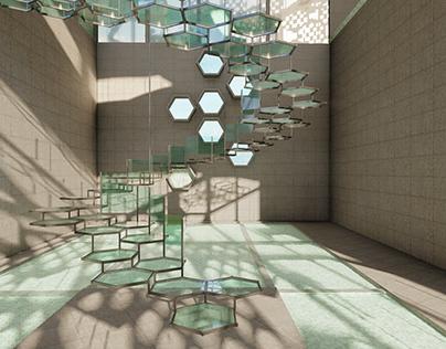 Sculptural Stairs