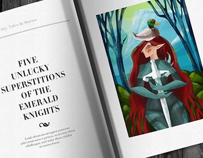 Digital illustration for children book