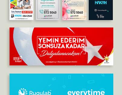 Social Media Banners 2008/1 © Zade Workshop