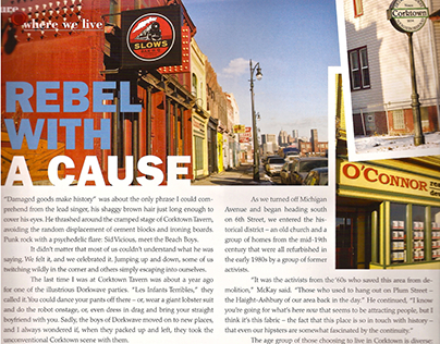 Rebel with a Cause Article | Ambassador Magazine