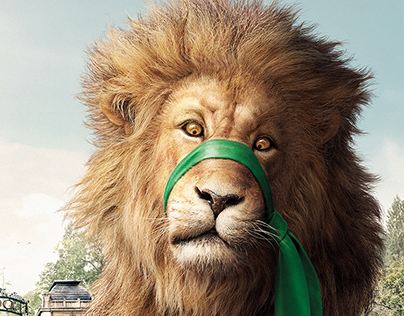 It's only a lion!