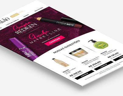 E-mail Marketing - Lancôme & Segredos de Salão