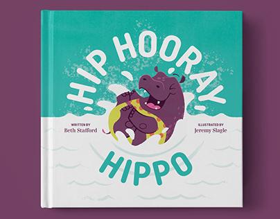 Hip Hooray, Hippo! Children's book Illustration
