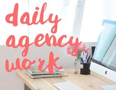 Trabajo de día a día