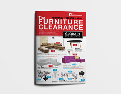 GLOBART COLLECTION FLYER reDESIGN
