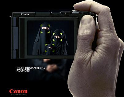 CANON | Humanity campaign