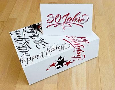 birthday box 30 years