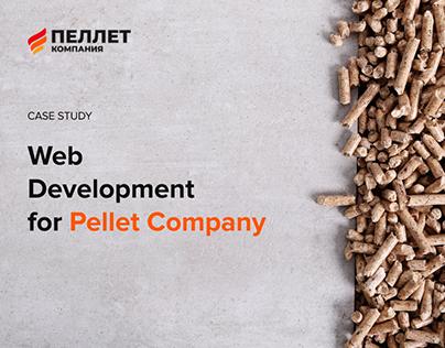 Web Development fop Pellet Company