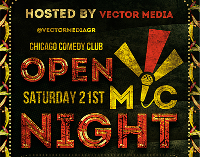Comedy - Flyer