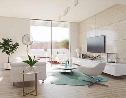 INTERIOR / SQUARE HOUSE