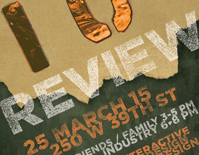 Event Poster - Portfolio Review Show