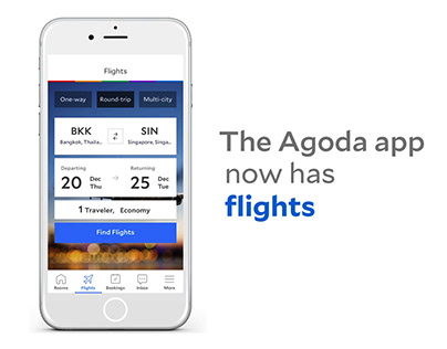 Agoda - Flight App Demo