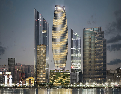 Abu Dhabi Concept Tower Project