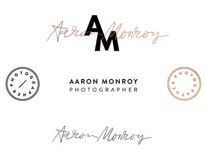 Aaron Monroy / Branding + Business Card Design