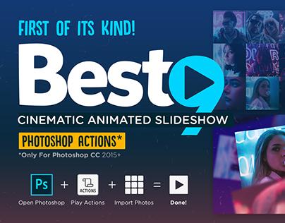 BEST9 Cinematic Photoshop Slideshow