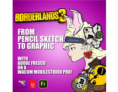 Adobe Fresco: Borderlands 3