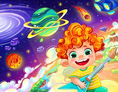 CHARACTERS design & illustrations for children's school