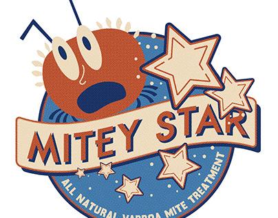 Mitey Star Logo Design