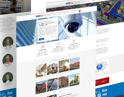 Stam Elektrotechniek corporate website