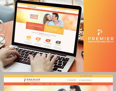 Premier Healthcare Services  Web Design