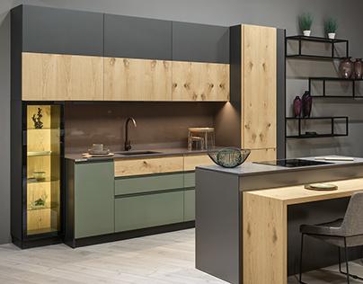 Pentagon18 kitchen/ELNOVA