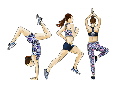 Active Wear Jumpsuit