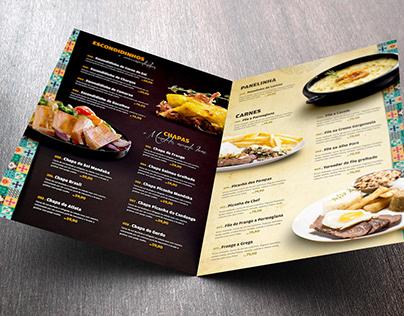 Cardápio Restaurante Mandaka