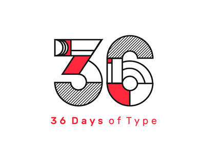 36 Days of Type - 4º Edition