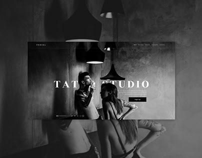 TATTOO STUDIO   CONCEPT   WEBSITE