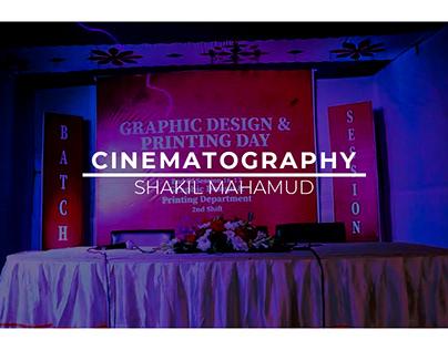 Cinematography Title Animation