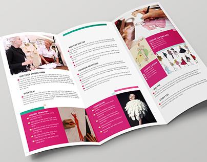 HSU Faculty of Polytechnic: Brochure layout