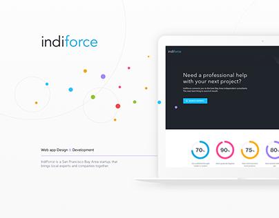 Indiforce web application