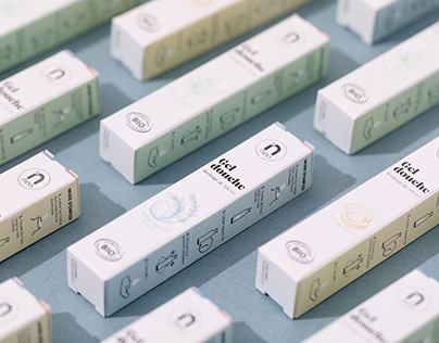 NEO - Shower gel packaging design