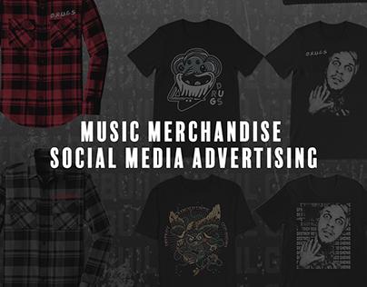 Merchandise web advertisements