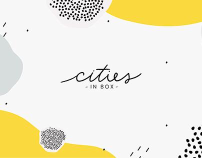 Branding - CITIES IN BOX