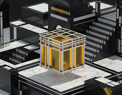 Mondrian SplitBox