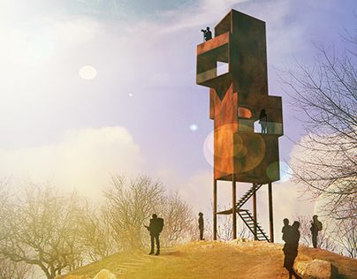 Watch tower at Bence-Hill