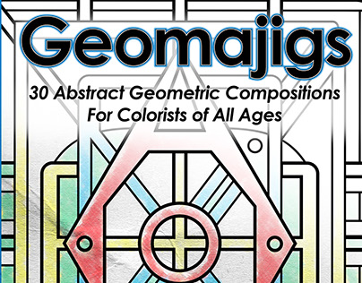 Geomajigs, the coloring book