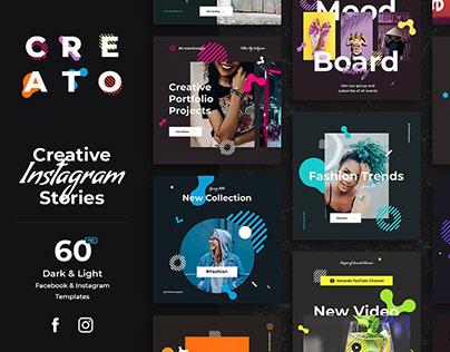 Creato Social Media Kit