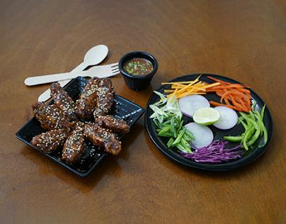 Filmy Macha Food Photography