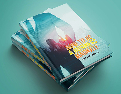 Business Strategy Book Cover Design Template